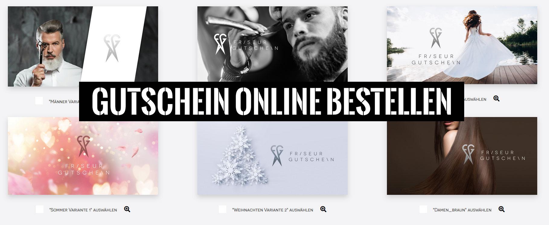 Gutschein online bestellen